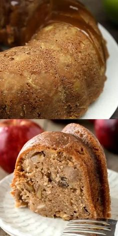 Apple Cake Ever Best Apple Cake Ever - Super moist cake loaded with chunks of apples and nuts!Best Apple Cake Ever - Super moist cake loaded with chunks of apples and nuts! Apple Cake Recipes, Pound Cake Recipes, Dessert Recipes, Apple Honey Cake Recipe, Pecan Pie Bundt Cake Recipe, Apple Cider Glaze Recipe, Moist Fruit Cake Recipe, Apple Sauce Cake, Green Apple Recipes