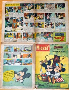 Vietnam - Mickey (Vietnamese). Scanned image of comic book (© Disney) cover + inside pages.