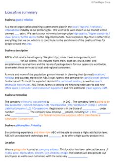 Insurance agent business plan template business templates executive summary template doc check more at httpsnationalgriefawarenessday47601executive summary template doc accmission Image collections