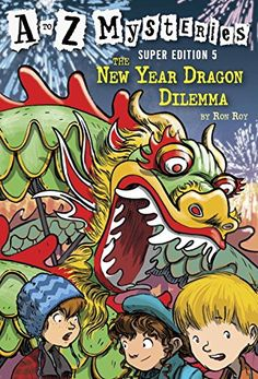 Paperback $5.33 A to Z Mysteries Super Edition #5: The New Year Dragon Dilemma (A Stepping Stone Book(TM)) by Ron Roy