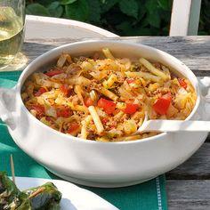 Spitzkohl mit Hackfleisch eignet sich besonders zum Vorkochen und Einfrieren.