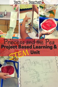 Project-based, problem-based and STEM all rolled into one great project! Students dive into the fairy tale, Princess and the Pea. The Royal Pea has been stolen from the Royal museum! Can your students make a marble run to help return the stolen pea? Inquiry Based Learning, Project Based Learning, Kids Learning, Spring Activities, Stem Activities, Learning Activities, Teaching Ideas, Princess And The Pea, Stem Challenges