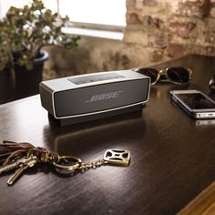 BOSE SoundLink Mini Latest Technology, Technology Gadgets, Mini Bluetooth Speaker, Speakers, Speaker Design, Audio, Bose, Guest Rooms, Household