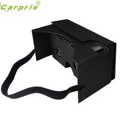 CARPRIE New For Google Cardboard V2 3D Glasses VR high Quality Max Fit 6Inch Phone Futural Digital Hot Selling AP18 #Affiliate