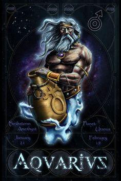 Aquarius Tattoos For Men and Women Aquarius Images, Aquarius Tattoo, Zodiac Signs Aquarius, Zodiac Art, Aquarius Horoscope, Sagittarius, Trendy Tattoos, Tattoos For Guys, Cool Tattoos