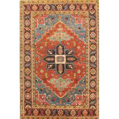 Found it at Wayfair.ca - Serapi Heriz Hand-Knotted Wool Traditional Area Rug
