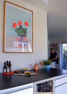 Parafrase Geranium (Matisse) af Aastrøm