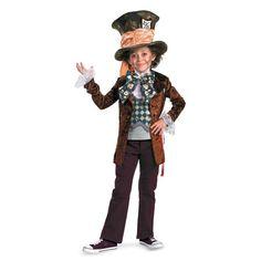 Deluxe Mad Hatter Boys Halloween Costume - Medium