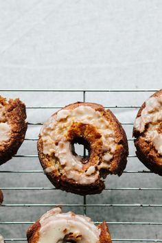 Creme Fraiche Doughnuts with Salted Browned Butter Glaze - from Not Without Salt