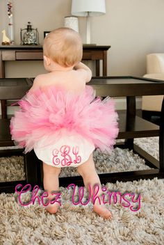 Monogrammed Baby Bloomers Personalized Diaper Cover by ChezWhimsy, $14.00