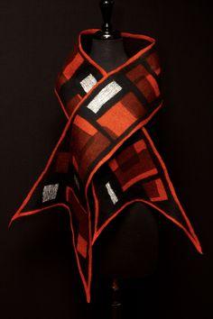 surface design: merino wool; silk; metallic silk                                                                                                                                                                                 More