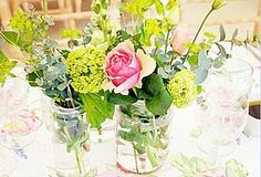 would look super cute on the dining room table with wild flowers