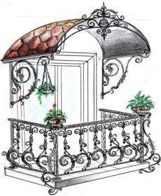 Art Fer, House Awnings, Door Design, House Design, Metal Drawing, Victorian Greenhouses, Balcony Railing Design, Wrought Iron Decor, Iron Balcony