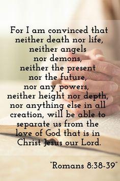 @AdventistChurch http://www.sdahymnal.net/ Romans 8:38-39