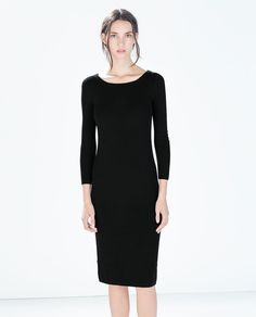 Image 2 of KNIT DRESS from Zara