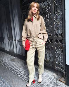 What Danish Street Style Star Pernille Teisbaek is Wearing to Fashion Week Fashion Week, Star Fashion, Mens Fashion, Autumn Street Style, Street Style Looks, Danish Street Style, Casual Jeans, Put On, Cool Style