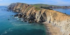 The Chimney Rock Trail traverses a narrow peninsula on Point Reyes.- Best Hikes in the Bay Area