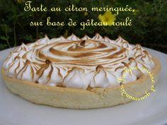 Parfumée à souhaits la tarte au citron meringuée sur pâte sablée ...