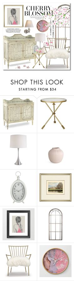 """""""Cherry Blossom"""" by miee0105 ❤ liked on Polyvore featuring interior, interiors, interior design, home, home decor, interior decorating, Nicole, John-Richard, Michael Aram and Kähler"""