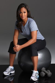 Laila Ali, why? Because she's pretty, and awesome