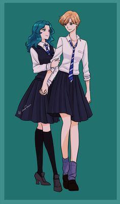 Uranus and Neptune as Ravenclaws