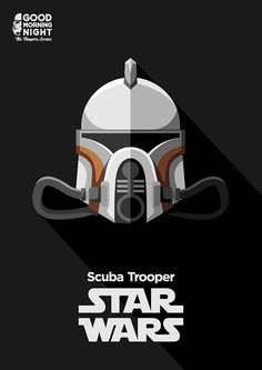 My personal project, illustrating the troopers from the movie and the expanded universes of star wars.