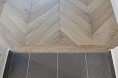 Atelier des Granges (French parquet) - Connection with tile floor - #997