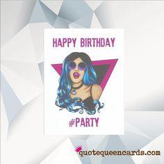 ADORE DELANO Happy Birthday PARTY Adore Delano Card Ru Pauls Drag Race