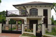 Fachadas de casas clasicas con terraza al frente #fachadasmodernasmexicanas