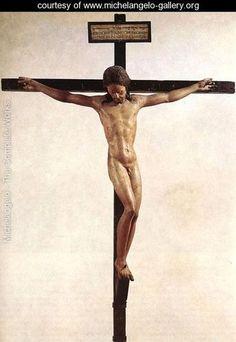 Crucifix - Michelangelo Buonarroti - www.michelangelo-gallery.org