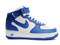 Nike Air Force 1 2011 High Blue-White!$68.60USD