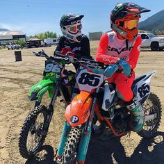 Motocross Couple, Motocross Love, Motocross Girls, Motocross Gear, Motocross Outfits, Dirt Bike Gear, Dirt Biking, Motorcycle Suit, Motorcycle Quotes
