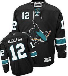 Reebok San Jose Sharks Patrick Marleau Premier Third Jersey - Shop.NHL.com