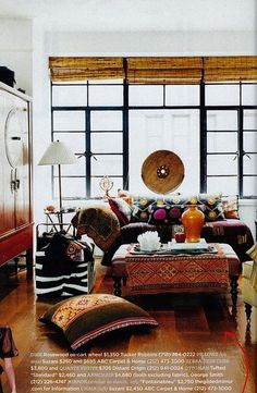 Bohemian Room_great textile layers