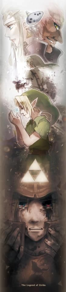 Ocarina of Time and Twilight Princess