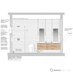 Interior Design Boards, Bathroom Interior Design, Furniture Design, Architecture Details, Interior Architecture, Interior Design Presentation, Toilet Design, Layout, Ceiling Design