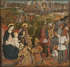 Guidoccio Cozzarelli : Adoration of the Magi (Nationalmuseum - Stockholm (Sweden - Stockholm)) 1450-1517 グィドチョ・コッサレッリ