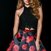 Stun the Crowd in Jovani Style 42490 Available at WhatchamaCallit Boutique