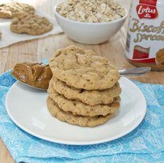 Biscoff Oatmeal Cookies {Sweet Pea's Kitchen}