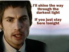 Just Stay Here Tonight ~ Augustana