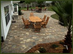 25 Great Stone Patio Ideas For Your Home | Driveway Repair, Brick Pavers  And Driveways