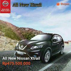 All New #Nissan #Xtrail 2.5 CVT Rp.475.500.000