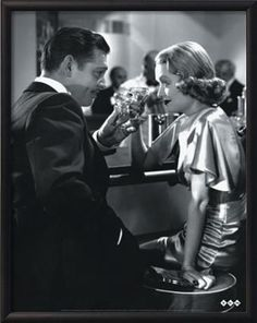 Clark Gable and Constance Bennett- After Office Hours