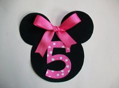 DIY NoSew Minnie Mouse Applique  Iron On by MaggiesCastle on Etsy, $3.45