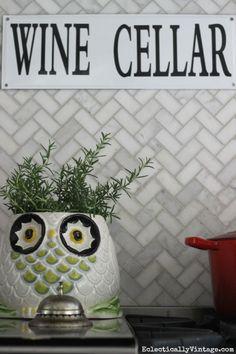 Owl cookie jar plant