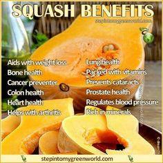 Squash benefits