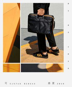 f4fadf33ef8 adidas x Porter Bags   Shoes Porter Bag, Porter Yoshida, Carry On Bag,