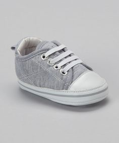 Take a look at this Heather Gray Slip-On Sneaker by Rugged Bear on #zulily today!
