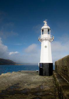 Mevagissey Lighthouse by Raggedjack1, via Flickr