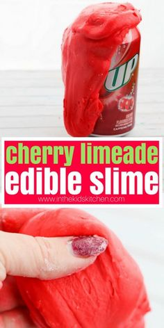 9 DIY Edible Slime Ideas – How To Make Homemade Edible Slime – Easy & Fun Recipes For Kids – Kids Craft Activities – Food Fun Crafts – Party Favors Ready for the best edible slime? What do you think is better than an ordinary slime? YES edible slime! Sour Patch Kids, Homemade Slime, How To Make Homemade, Diy Slime, Homemade Art, Jelly Beans, Candy Corn, Cherry Limeade Recipe, Edible Crafts